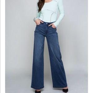 bebe Jeans - Bebe rhinestones on back stone blue jeans